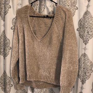 Express Plush Velvet Mid Sweater